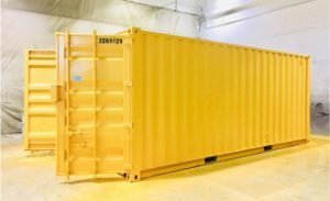 Custom Painting for Commercial Business Storage Container