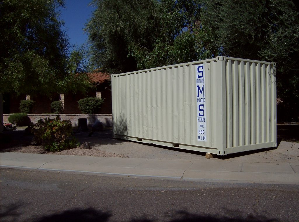 Rent a Storage Container for Residential Moves