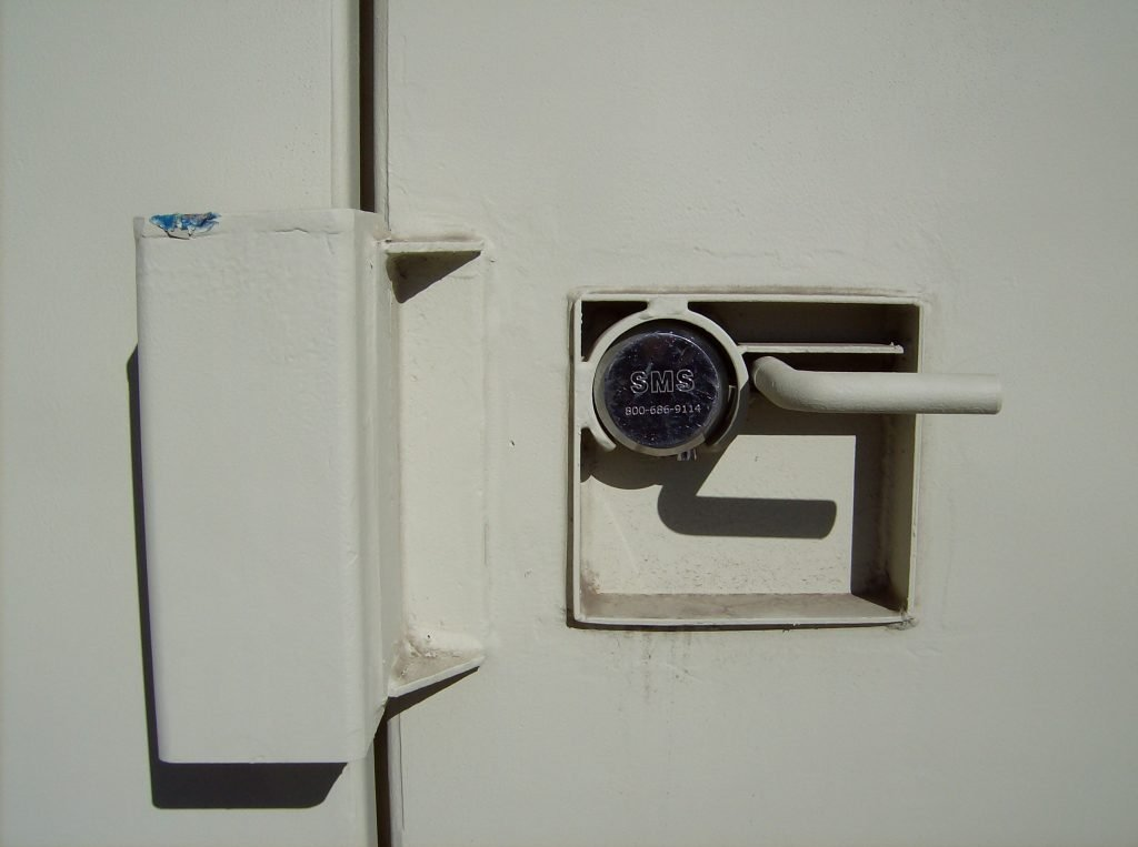 Improved Construction Storage Container Security
